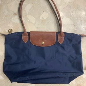 Navy Blue Longchamp medium LePilage